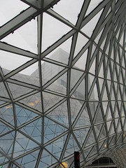MyZeil shopping centre (roobarbs) Tags: glass shopping germany frankfurt unusual 2011 myzeil myzeilshoppingcentre