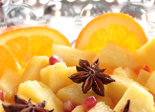 ananas agrumato con anice stellato