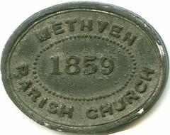 Methven communion token