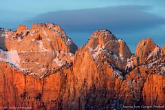 Icy Serendipity (clayhaus) Tags: sky southwest west outdoors utah us nationalpark sandstone unitedstates desert panoramas erosion entrada zion southernutah redrock virginriver coloradoplateau