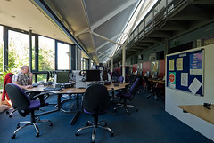Interior View of Learning Space
