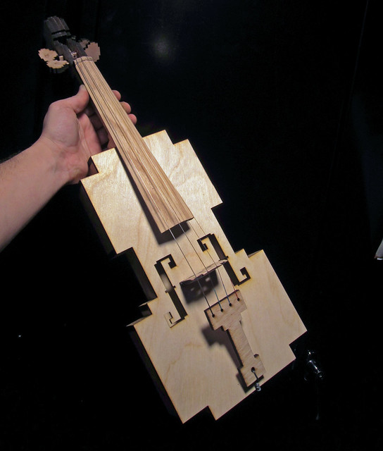 instrument-a-day 20 and 21: 8-bit violin