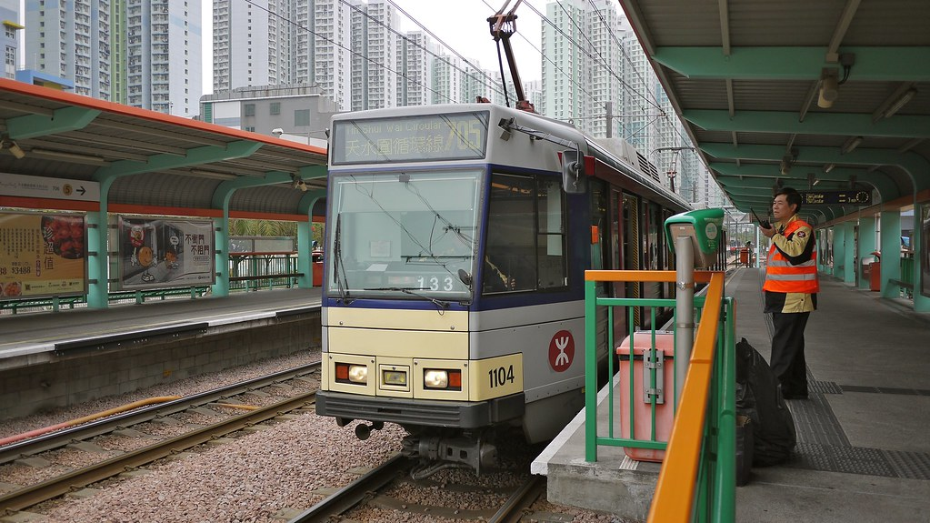 MTR Light Rail Train