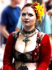 Suddenly......last summer (LaTur) Tags: summer people woman beauty smile dc dcist marylandrenaissancefestival     we3dc welovedc