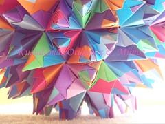 Esfera Paolo Bascetta (Kusudamas Origamis & Mimos) Tags: paolo sphere bascetta