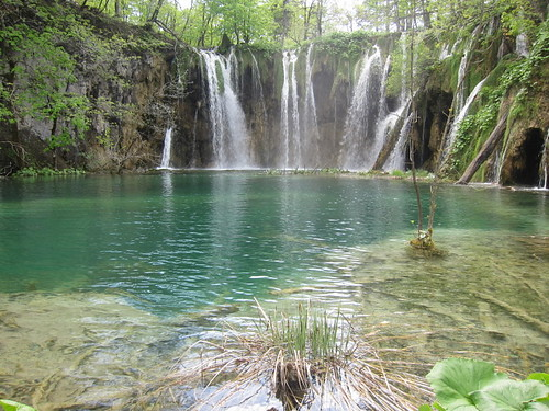 Plitvice Lakes Waterfall and Pool
