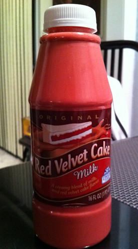 Red Velvet Cake Milk - Upstate Farms
