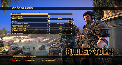 Bulletstorm (PC) Graphics Bugs, Errors, GFWL Fixes, Crashes and PhysX Fix