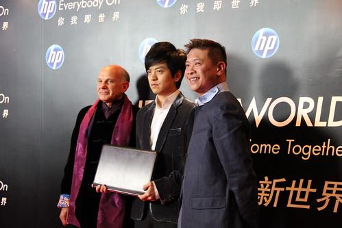 Jos Brenkel, Li Jian and Robin Seow