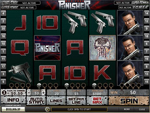 Punisher War Zone slot game online review