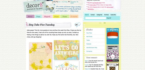 Blogs I love - decor8