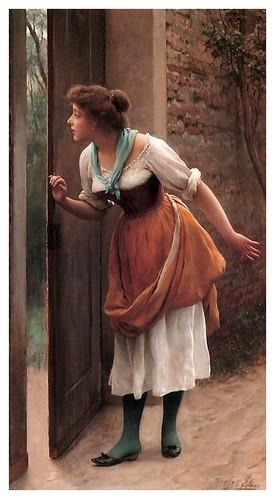 016-La espia-Eugene de Blaas 1906