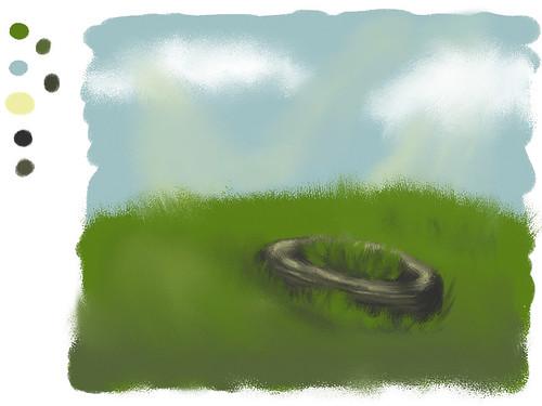 "Speed Paint, February 24th - ""Dilapidated/Sunshine"""