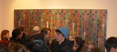 Zevs' Exhibition Opening at Gallery De Buck