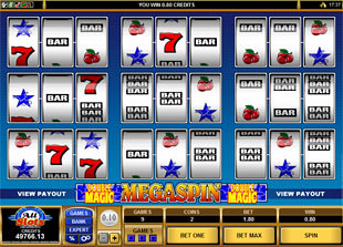 Megaspin Double Magic slot game online review