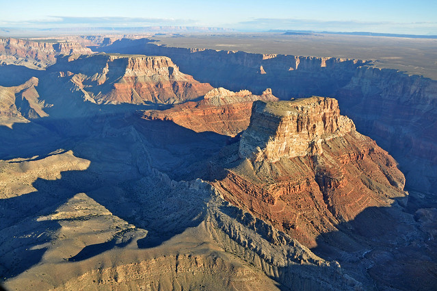 Grand Canyon DEIS Aerial Kwagunt Butte Malgosa Crest Nankoweap Mesa by Grand Canyon NPS
