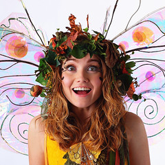 Twig Caffeinated (gbrummett) Tags: portrait coffee smile fun happy awesome fairy soda fairies caffeine portrature img9791 twigthefairy 2011arizonarenaissancefestival twigcaffeinated