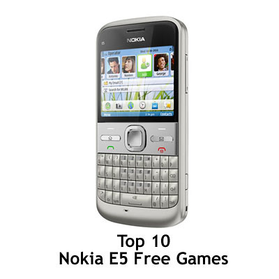 Free Games   Phone on Top 10 Free Games For Nokia E5   Mobile Phone Tips And Review