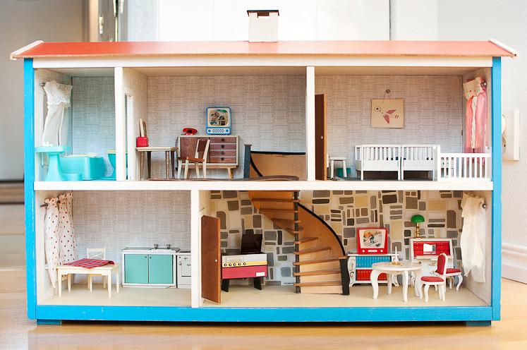Doll Houses, Victorian Dollhouse