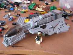 X11 Bighawk possible WIP (antha) Tags: modern lego wip maybe fi sci aci faction brickarms