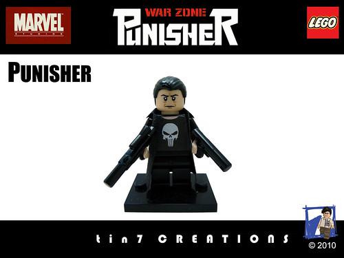 Custom minifig custom minifig Punisher