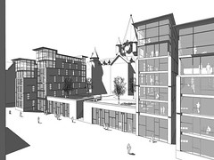 Perspective of New Build Housing