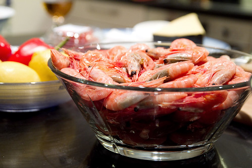 So many prawns!