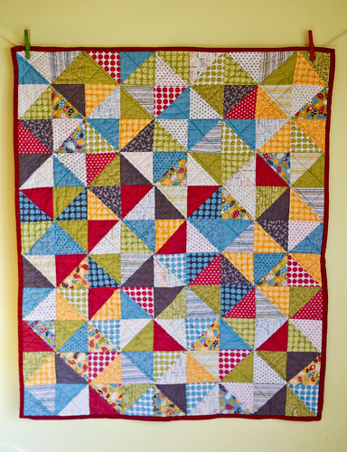 "Official ""if it's a boy"" quilt"