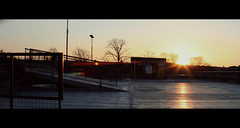 [sunset] (Louis Hvejsel Bork) Tags: cinema colour colors canon vintage movie lens rebel 50mm warm bokeh m42 flare graded f18 cinematic 58mm corrected helios kowa m44 anamorphic furnature f20 550d loomax 8z xti 44m