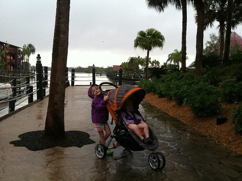 Rainy morning--a good thing it turns out!