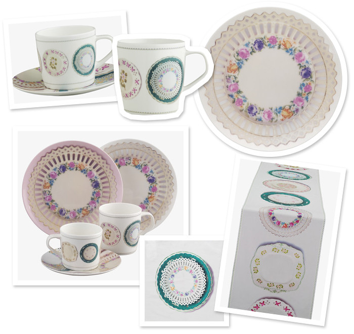 Joanie teaware range by Ella Doran for habitat