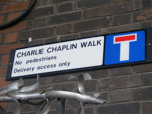 Charlie Chaplin Walk