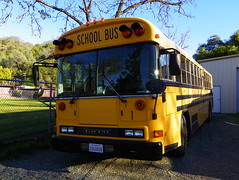School Bus (kevin42135) Tags: california blue school lake 3 bus bird ford 1 high all thomas 8 upper american re bluebird lucerne elementary