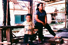 Child and Mom (ardy marwan) Tags: street mamiya mom photography 50mm fuji child f2 ze eseries sekor mamiyaze kebersamaan kehangatan tungstent64