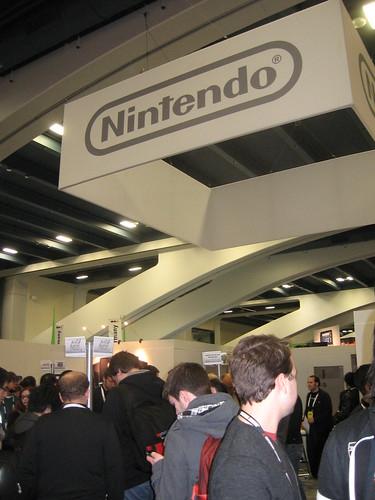 Nintendo's Booth