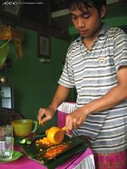 Indonesia-Bali / Membuat Juice Kunyit