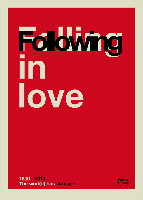 Following in love