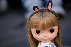 Alice  (Bruna Lacrout ) Tags: doll alice portoalegre plastic blond blythe feltro juliana bangs custom browneyes orelhas cuthair rbl wiwi sardas takaratomy liccabody ixtee crisshida pdww sonya230 colgiosantadorotia