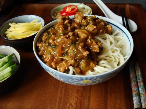 Zha Jiang Mian 炸醬麵