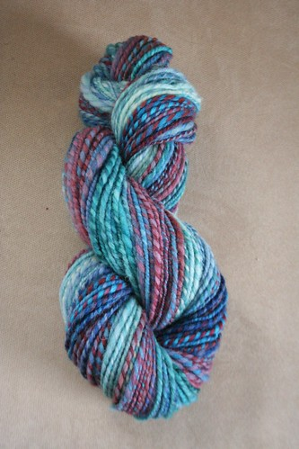 spun :: Hello Yarn November 2010 Fiber Club