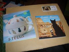 Card & Roman cats calendar from Helja