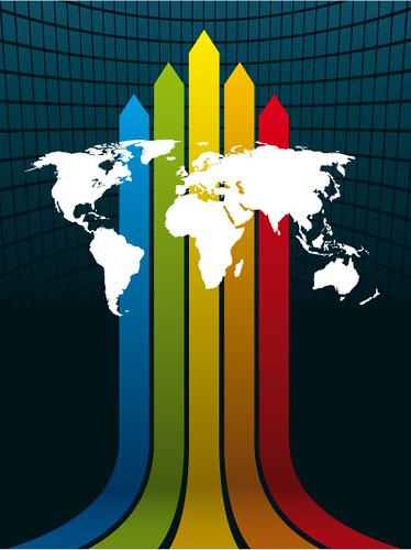 world-map-on-a-rainbow-arrow-background1