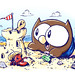 "Owly and Wormy at the Beach! • <a style=""font-size:0.8em;"" href=""http://www.flickr.com/photos/25943734@N06/5507725304/"" target=""_blank"">View on Flickr</a>"