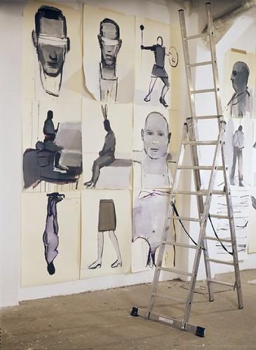 Vista de conjunto de obras. by SUSO BASTERRECHEA