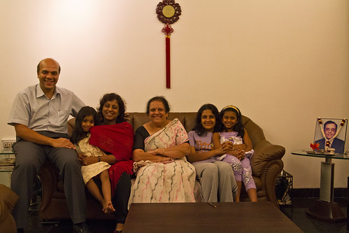Sandeep and his family
