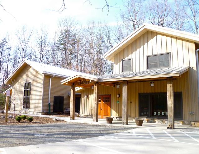 Walker Nature Center, South Facade