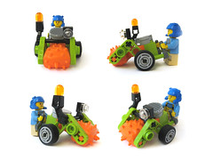 Power Minors Gravel Grinder (nolnet) Tags: power lego minors