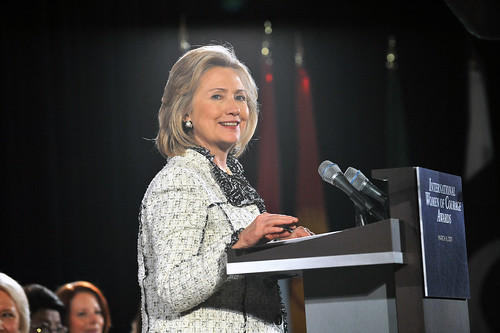 Secretary Clinton Delivers Remarks at 2011 International Women of Courag