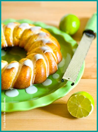 Torta miele di castagno e lime