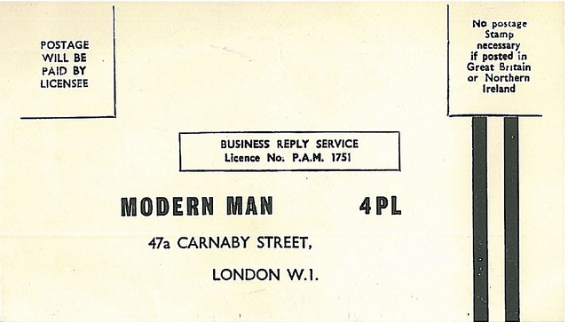 Modern Man Envelope